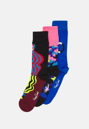 3-PACK CIRCUS SOCKS GIFT UNISEX - Socks - multi
