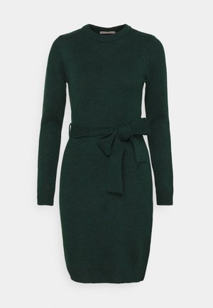 Shift dress - dark green