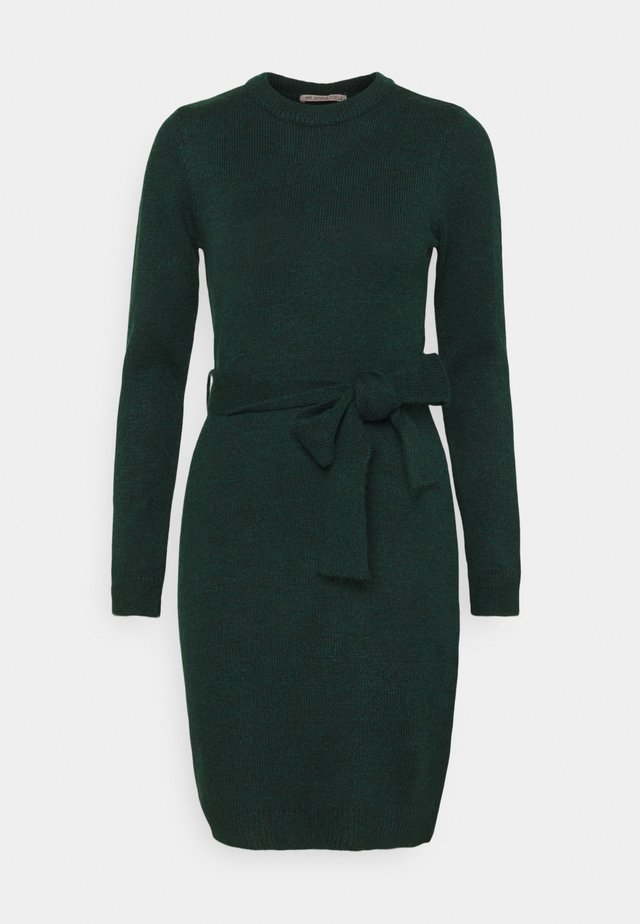 Jumper dress - Shift dress - dark green
