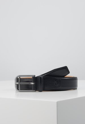 DOUBLE BAR BUCKLE - Riem - black