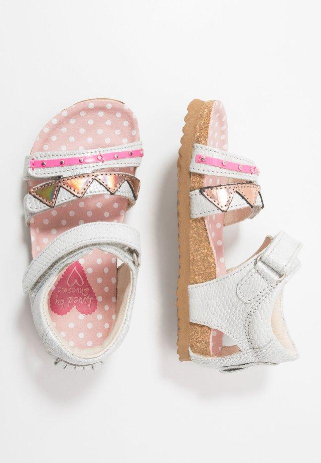 BIO  - Sandals - silver