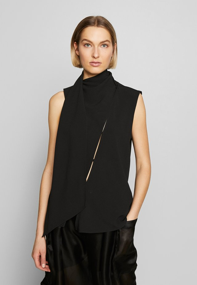 BLOUSE - Bluzka - black