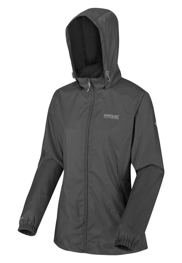 CORINNE - Regenjacke / wasserabweisende Jacke - seal grey
