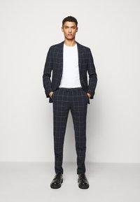 DRYKORN - PIET - Suit trousers - dark blue - 1