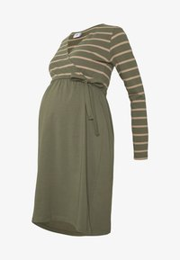 MAMALICIOUS - MLMADELLEINE TESS DRESS - Vestido ligero - dusty olive - 3