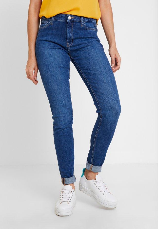 HOSE LANG - Jeans Skinny Fit - blue denim