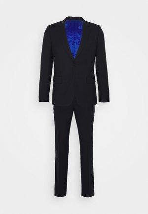 GENTS TAILORED FIT BUTTON SUIT - Suit - dark blue