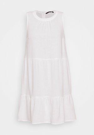 VMHELENMILO SHORT DRESS - Denní šaty - snow white