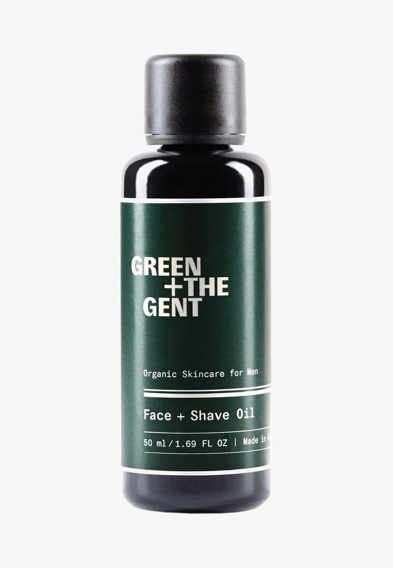Green + The Gent - FACE + SHAVE OIL - Olejek do twarzy - -