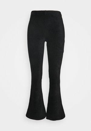 ONLFENJA LIFE FLARED PANT - Bukser - black