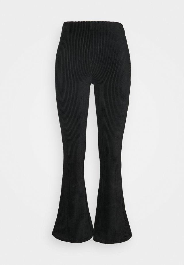 ONLFENJA LIFE FLARED PANT - Bukse - black