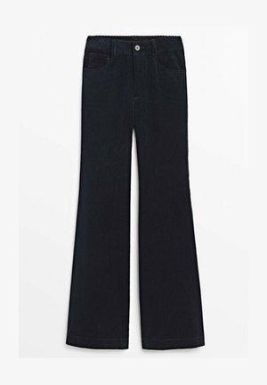 WIDE LEG LIMITED EDITION - Spodnie materiałowe - dark blue