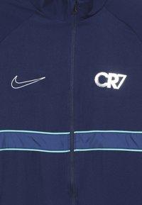 Nike Performance - DRY - Tuta - blue void/hyper jade/metallic silver - 5