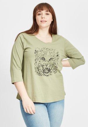 Pitkähihainen paita - dark green