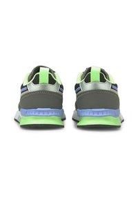 Puma - MIRAGE TECH BABIES' - Sneakers - castlerock-elektro green - 2
