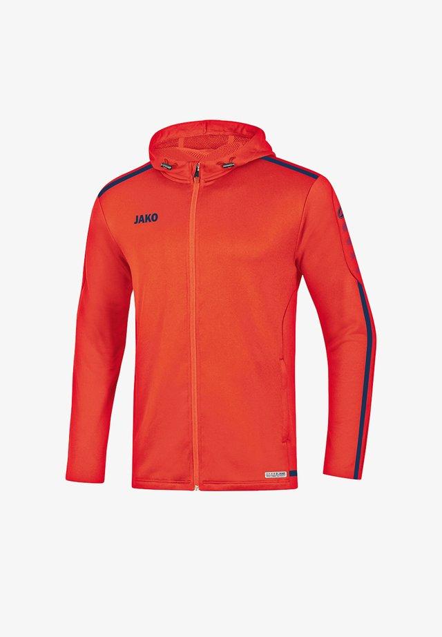 Training jacket - orangeblau