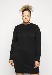 CAPSULE by Simply Be - LIKE DRESS - Jumper dress - black - 3