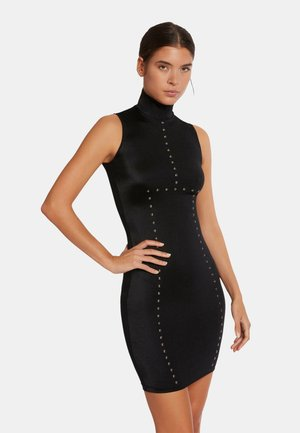 Nobilitas  - Robe fourreau - black/metaldust
