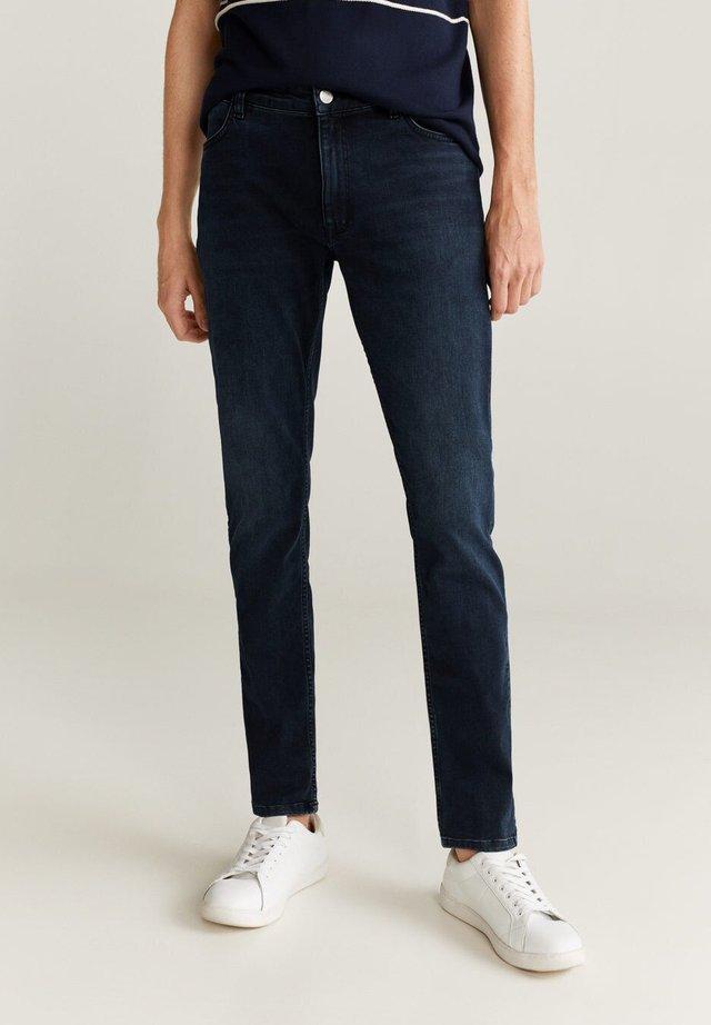 PATRICK - Slim fit jeans - deep dark blue