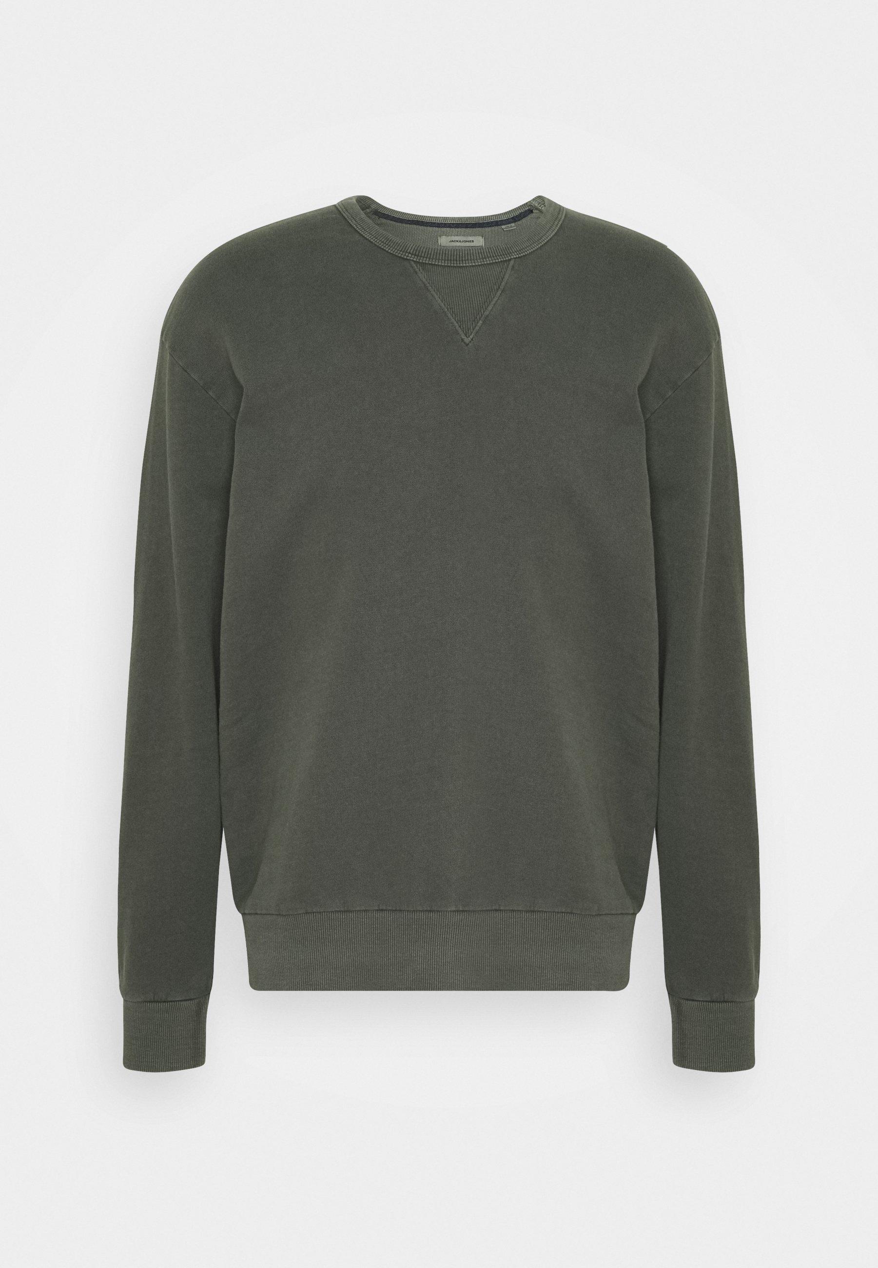 Men JJEWASHED CREW NECK - Sweatshirt