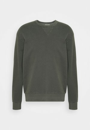 JJEWASHED CREW NECK - Sweatshirt - forest night