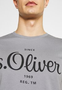 s.Oliver - T-Shirt print - grey - 5