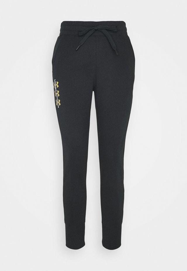 RIVAL PANTS - Tracksuit bottoms - black