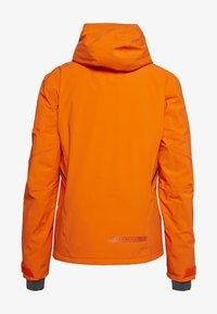 Salomon - BRILLIANT - Lyžařská bunda - red orange/ebony - 1