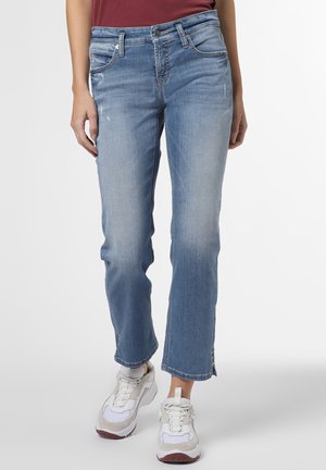 Bootcut jeans - light stone