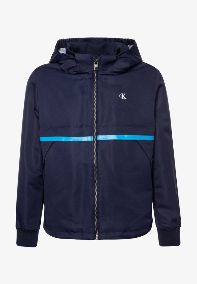 MONOGRAM STRIPE  - Light jacket - blue