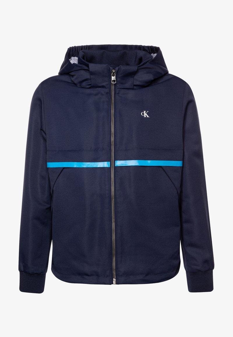 Calvin Klein Jeans - MONOGRAM STRIPE  - Light jacket - blue