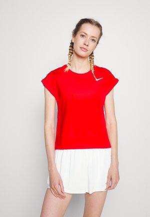 T-shirt basic - university red/white