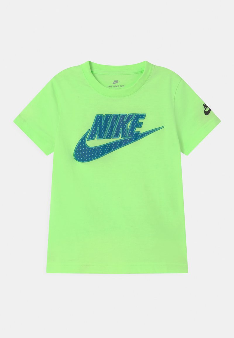 Nike Sportswear - UNISEX - Camiseta estampada - lime glow