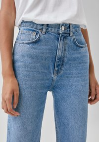 PULL&BEAR - Jeansy Straight Leg - blue - 4