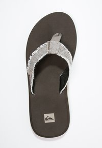 Quiksilver - MONKEY ABYSS - T-bar sandals - brown - 1