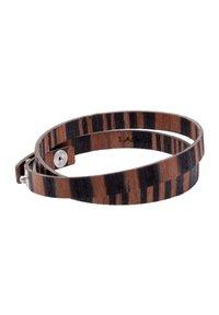 LAIMER - LAiMER Wickel-Armband aus Sandelholz - S1109 - Bracelet - brown - 0