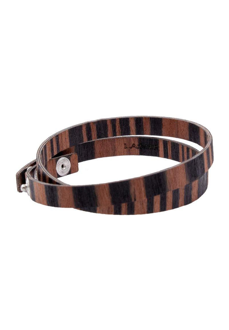 LAIMER - LAiMER Wickel-Armband aus Sandelholz - S1109 - Bracelet - brown