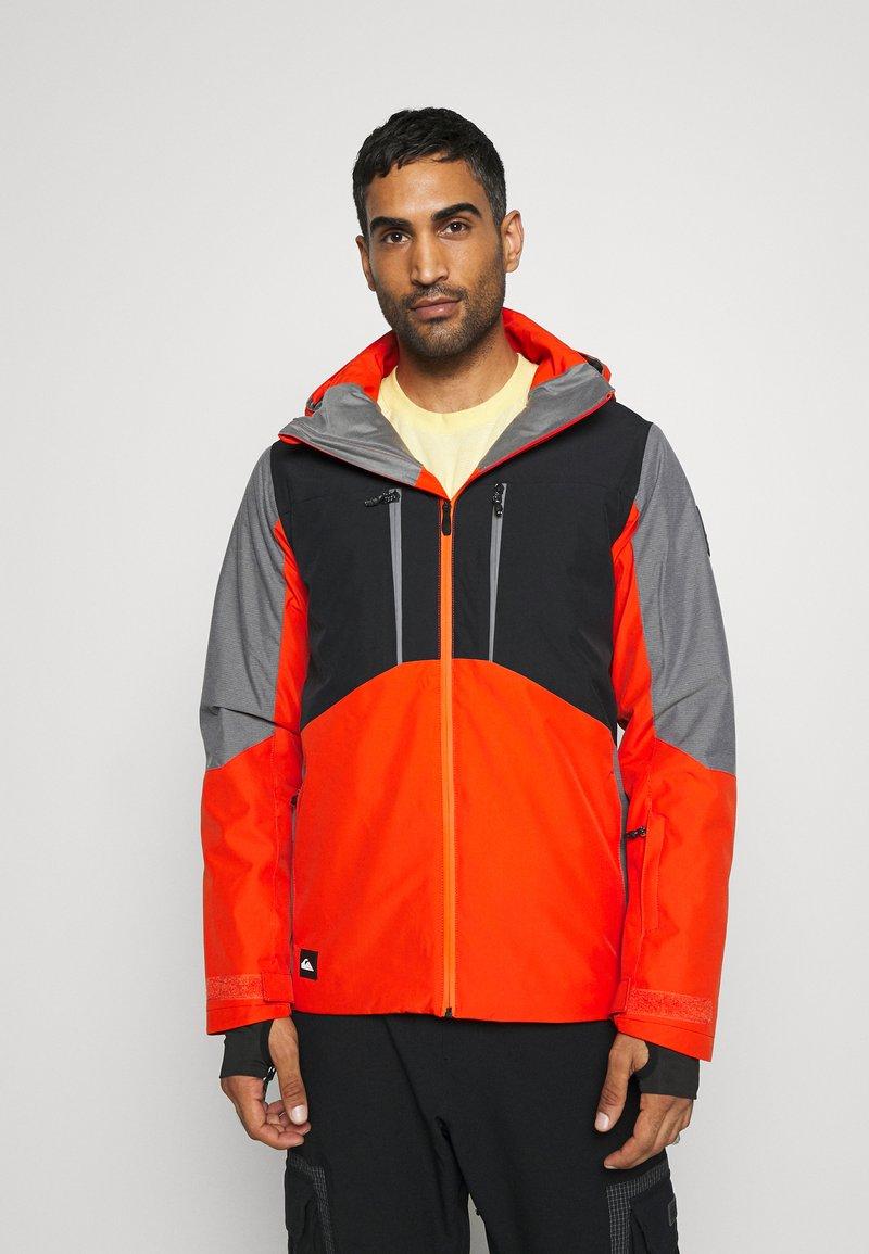 Quiksilver - MISSION PLUS - Snowboard jacket - pureed pumpkin