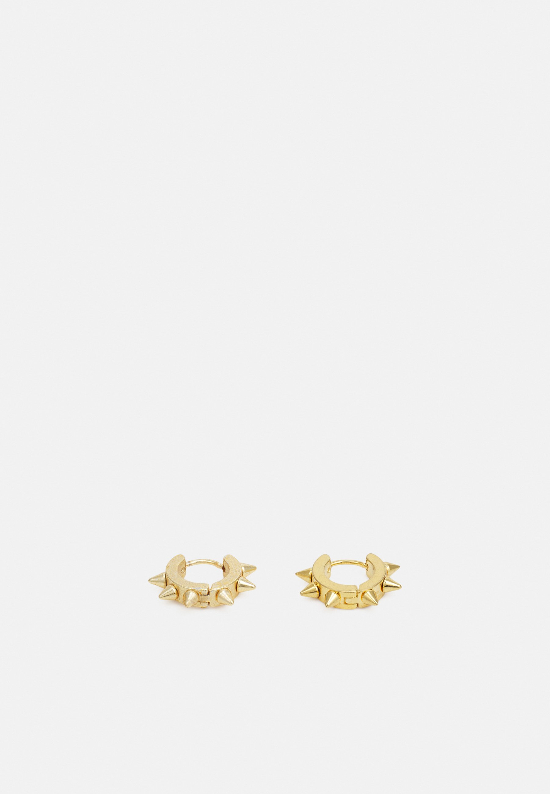 Men SPIKE HOOP EARRINGS - Earrings