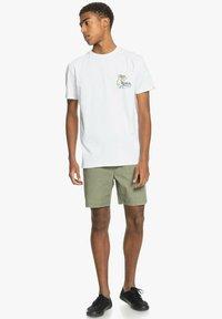 Quiksilver - ANOTHER ESCAPE - Print T-shirt - white - 1
