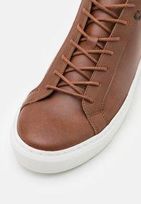 NAE Vegan Shoes - MATT VEGAN - Vysoké tenisky - brown - 5