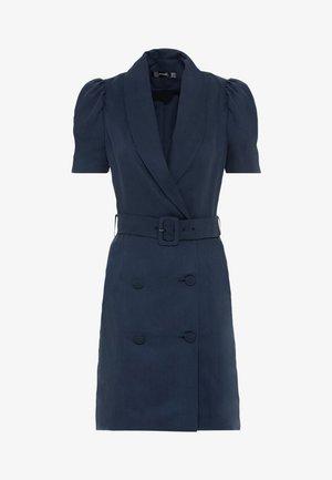 Shift dress - indigo