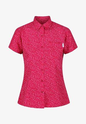 Button-down blouse - duchess petal