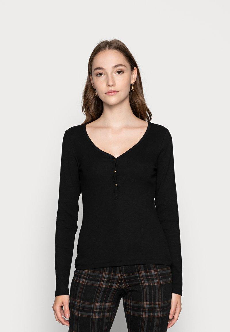 Even&Odd - T-shirt à manches longues - black
