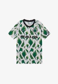 Nike Performance - NFF NIGERIA  - Oblečení národního týmu - white/pine green/black - 2