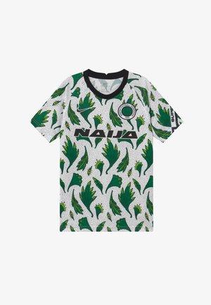 NFF NIGERIA  - Oblečení národního týmu - white/pine green/black