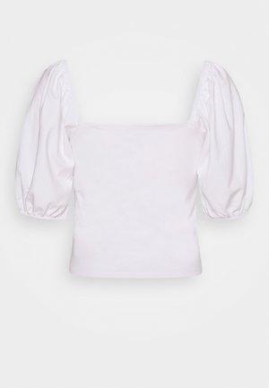 NEMI - Camiseta estampada - white