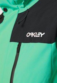 Oakley - Snowboard jacket - black/mint - 6