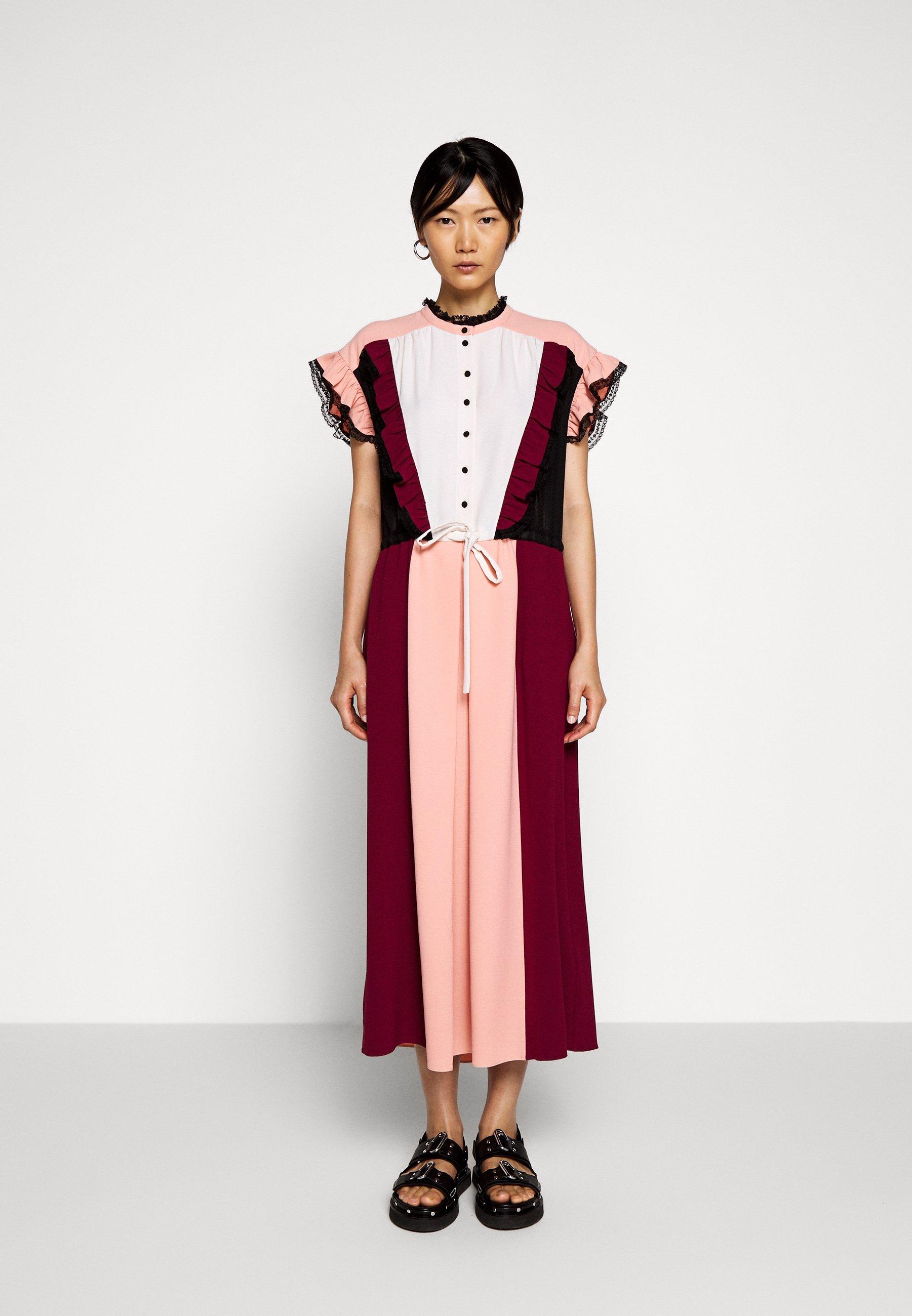 New Women's Clothing Hofmann Copenhagen MAGRITTE Shirt dress wild berry L8S5WcjLF