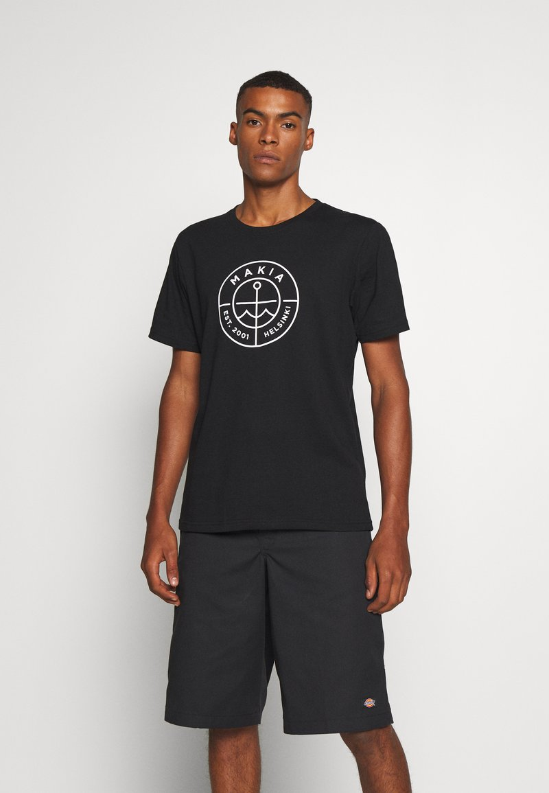 Makia - RE SCOPE - Print T-shirt - black
